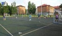 Стартовали отборочные игры турнира среди дворовых команд