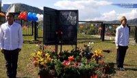 В Ортоне открыли памятник участникам Великой Отечественной войны