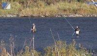 Спасатели искали пропавших рыбаков