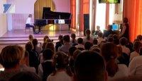 В хоровой школе прошёл филармонический концерт